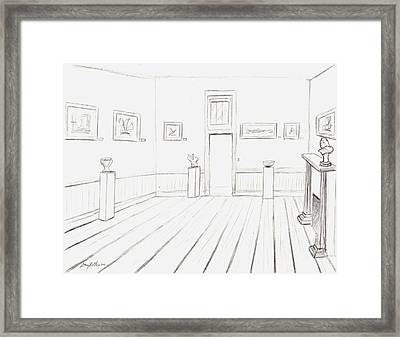 Old Courthouse Number Four Framed Print by Stacy C Bottoms