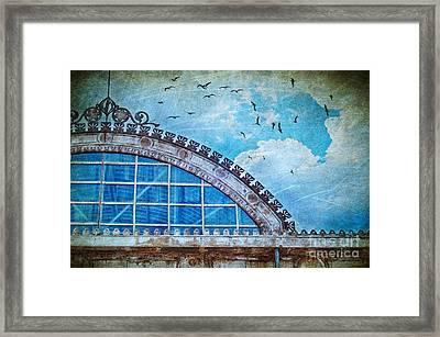 Old Deposit Detail Framed Print by Silvia Ganora
