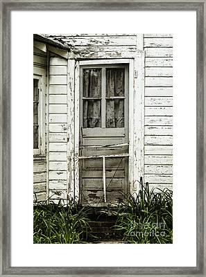 Old Door Framed Print by Margie Hurwich