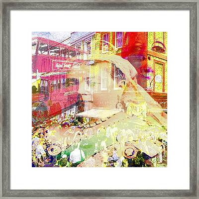 Old England Framed Print by GANECH Graphics