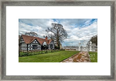 Old English Lodge Framed Print by Adrian Evans