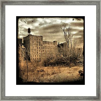 Old Factory Framed Print by Gothicolors Donna