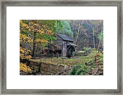 Old Fashion Mill Framed Print by Paul Ward