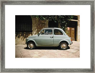 Old Fiat Framed Print by Clint Brewer