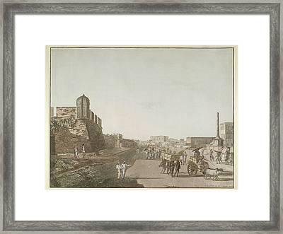 Old Fort Framed Print by British Library