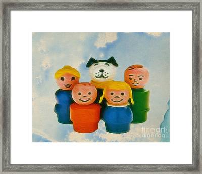 Old Friends  Framed Print by Cheryl Young
