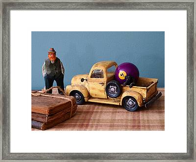 Old Friends-still Life Framed Print by Tom Druin