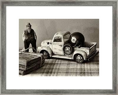 Old Friends Framed Print by Tom Druin