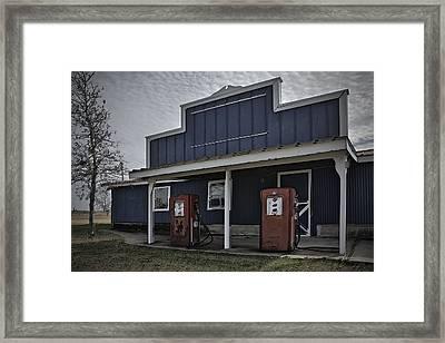Old Gas Framed Print by David Kehrli