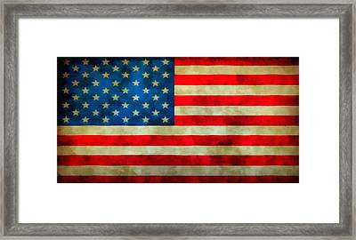 Old Glory Framed Print by Dan Sproul