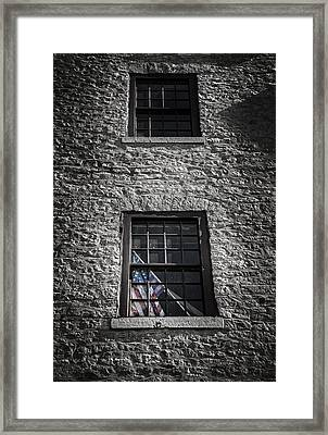 Old Glory Framed Print by Scott Norris