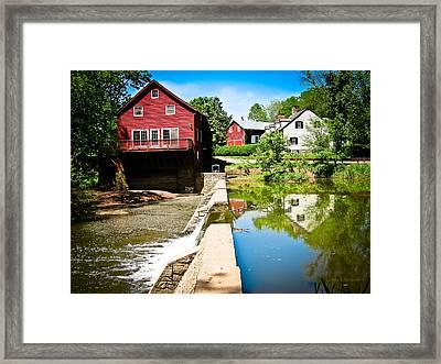 Old Grist Mill  Framed Print by Colleen Kammerer
