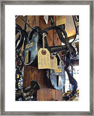 Old Guard Framed Print by FlyingFish Foto