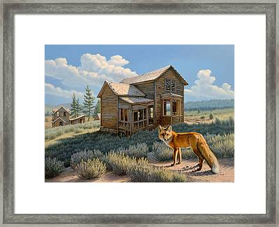 Old Haunts  Framed Print by Paul Krapf