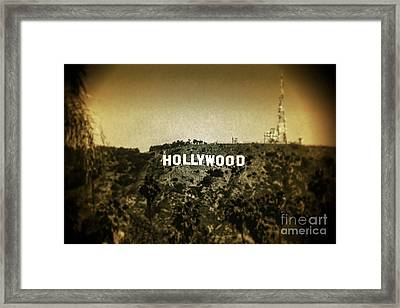 Old Hollywood Framed Print by Az Jackson