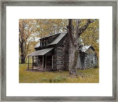 Old Home Place Framed Print by Donna Marr