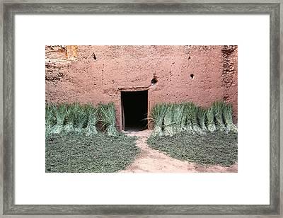 Old Kasbah Entrance Framed Print by Sophie Vigneault