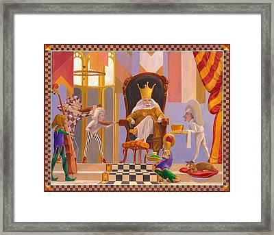 Old King Cole Framed Print by Leonard Filgate