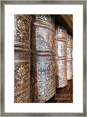 Old Knowledge Framed Print by Olivier Le Queinec