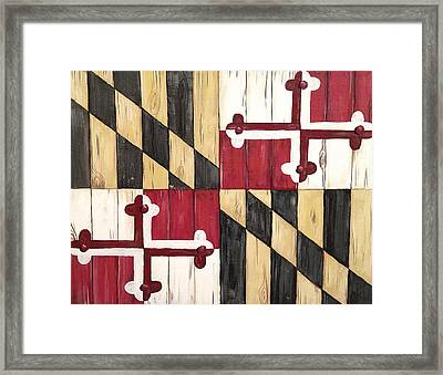 Old Line State Framed Print by Laura Parrish