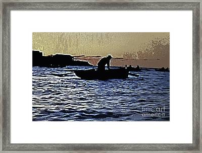 Old Man And The Sea Framed Print by Patricia Januszkiewicz