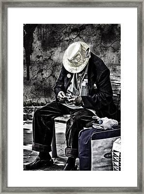 Old Man Framed Print by Erik Brede