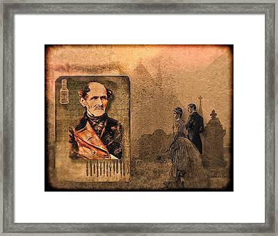 Old Man's Memoirs Framed Print by Bellesouth Studio