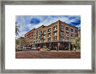 Old Market Framed Print by Jeff Swanson