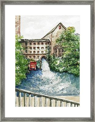 Old Mill Aqueduct Framed Print by Elle Smith  Fagan