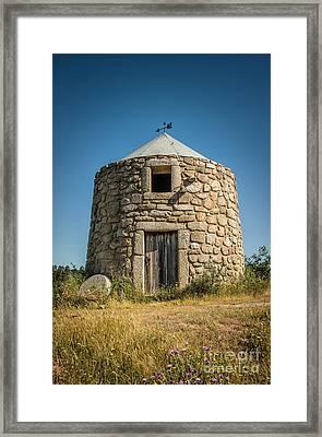 Old Mill Framed Print by Carlos Caetano