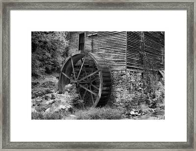 Old Mill In Tennessee Framed Print by Mountain Dreams