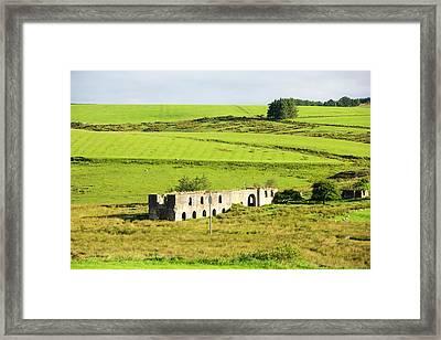 Old Mine Buildings Near Gilsland Framed Print by Ashley Cooper