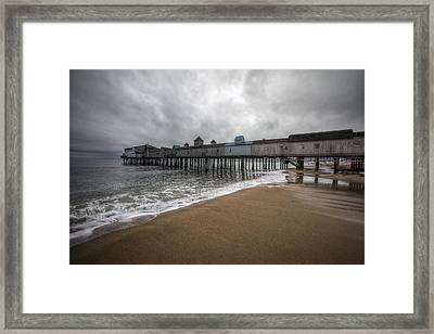 Old Orchard Beach Framed Print by Eric Gendron