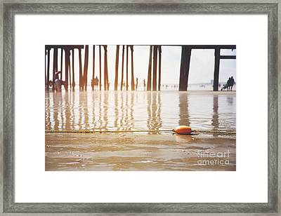 Old Orchard Beach Framed Print by Jane Rix
