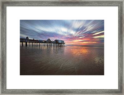 Old Orchard Daybreak Framed Print by Eric Gendron