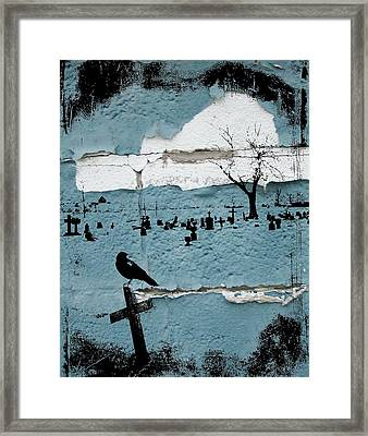 Old Paint Framed Print by Gothicolors Donna Snyder