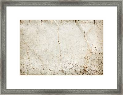 Old Paper Framed Print by Tom Gowanlock