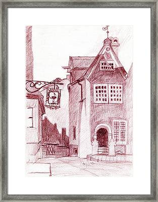 Old Pharmacy Framed Print by Serge Yudin