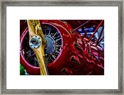 Old Plane Framed Print by Srdjan Petrovic