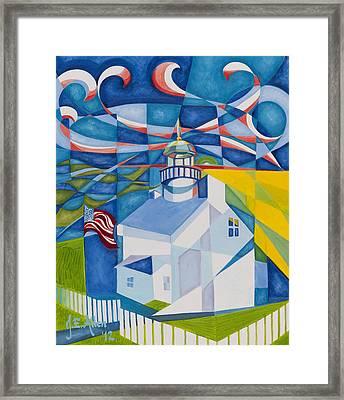 Old Point Loma Framed Print by Joseph Edward Allen