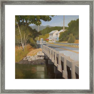 Old Post Office Restaurant Framed Print by Todd Baxter