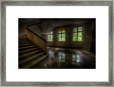 Old Reflections Framed Print by Nathan Wright