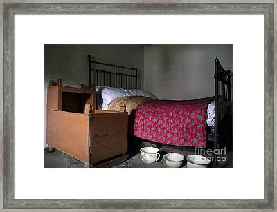 Old Rural Irish Bedroom Framed Print by RicardMN Photography