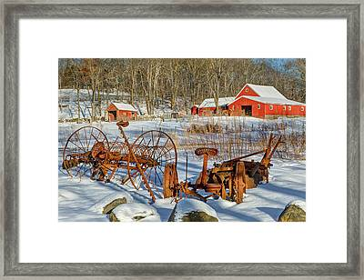 Old School Framed Print by Bill Wakeley