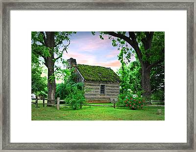 Old School House Framed Print by Mary Timman