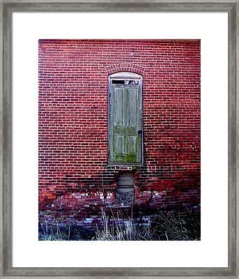 Old School Framed Print by Mark Orr