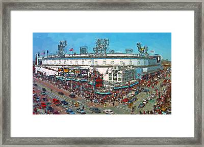 Old School Opening Day Framed Print by John Farr