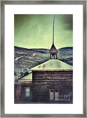 Old Schoolhouse Framed Print by Jill Battaglia