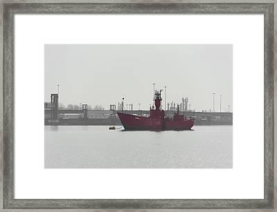 Old Ship Framed Print by Svetlana Sewell