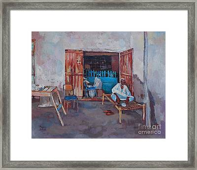 Old Shop Suakin Framed Print by Mohamed Fadul